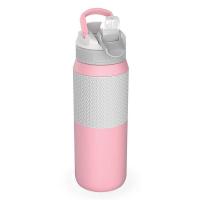 Голяма дамска розова бутилка за вода 750мл Kambukka Lagoon Insulated