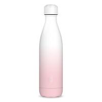 Дамска термо бутилка в розово и бяло Ars Una Gradient Pink, 500мл
