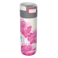 Дамска в розово и бяло 500мл Kambukka Etna, розови цветя