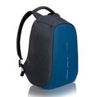 Синя раница за път побираща лаптоп 14