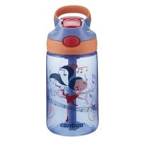 Детска бутилка за вода за момиче CONTIGO Gizmo Flip - Танцьорка, 420мл