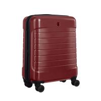 Стилен малък тъмночервен куфар за ръчен багаж Wenger Lyne Carry-On