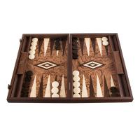 Луксозна ръчно изработена табла Орехово коренище Manopoulos