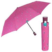 Дамски цикламен чадър с автоматично отваряне Perletti Time
