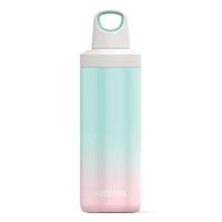 Дамска термо бутилка в цвят мента и розово Kambukka Reno 500мл, неонова мента