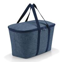Черна голяма хладилна чанта за пикник Reisenthel Coolerbag, twist blue