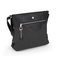 Дамска черна ежедневна чанта Gabol Moon