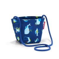 Симпатична детска чантичка з апрез рамо Reisenthel Minibag kids ABC Friends, синя