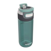 Тъмнозелена спортна бутилка за вода Kambukka Elton, 0.500мл