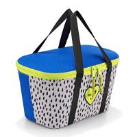 Малка термо чанта в синьо, жълто и бяло Reisenthel Coolerbag X, Mini me leo