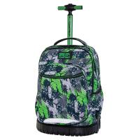 Зелена раница на колела за училище CoolPack Swift - Triogreen, момче