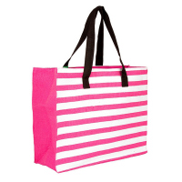 Плажна чанта райе циклама HatYou 50см
