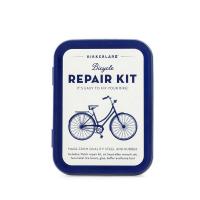 Портативен комплект за ремонт колело Kikkerland Crab Bike Repair Kit Tin