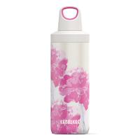 Дамска термо бутилка Kambukka Reno 500мл, розови цветя