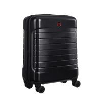 Стилен малък черен куфар за ръчен багаж Wenger Lyne Carry-On