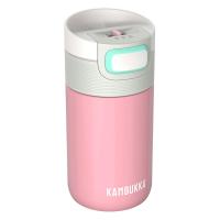 Малка дамска термочаша за кафе или чай Kambukka Etna 300мл, бебешко розово