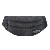 Черна мъжка чанта за през кръста CoolPack Madison - Snow Black