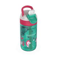 Малка детска зелена бутилка за вода Kambukka Lagoon 400мл, русалка