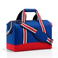 Пътна чанта в синьо и червено Reisenthel Allrounder M, Special edition nautic