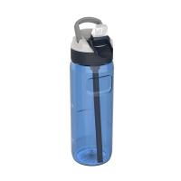 Голяма синя спортна бутилка за вода 750мл Kambukka Lagoon, кралскосиньо