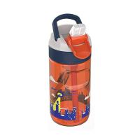 Детска оранжева бутилка за вода за момче Kambukka Lagoon 400мл, супермомче