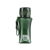 Зелена малка спортна булика за вода или други течности Ars Una, 350мл