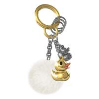Стилно украшение за дамска чанта тип висулка Metalmorphose Duck Bag Charm, патенца