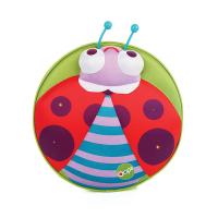 Малка зелена кръгла 3D раница за малки деца Oops Калинка