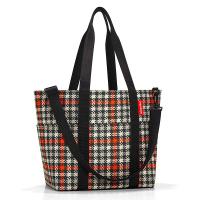 Универсална дамска чанта на каре точки Reisenthel Multibag, glencheck red