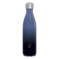 Метална термо бутилка в черно и синьо Ars Una Gradient Black and Blue, 500мл
