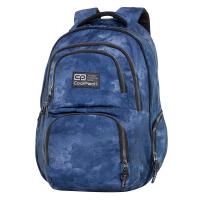 Синя голяма раница за училище или за път CoolPack Aero - Foggy Blue