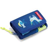 Малко текстилно детско синьо портмоне Reisenthel Wallet S Kids ABC Friends, Blue
