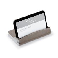 Кутия за кредитни карти или и поставка за визитки Philippi Dion от естествена кожа