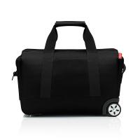 Удобна черна пътна чанта Reisenthel allrounder trolley, black 30 литра