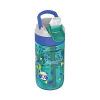 Синьо-зелена бутилка за вода Kambukka Lagoon 400мл, панда