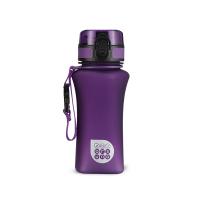 Малка лилава матова спортна булика за вода или други течности Ars Una, 350мл