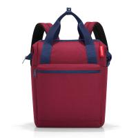 Тъмночервена раница и пътна чанта Reisenthel Allrounder R, Dark ruby