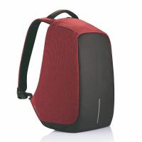 Раница за лаптоп в черно и червено XD Design Bobby Original 15.6