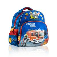 Малка синя детска раница Playmobil PL-01 Пожарна
