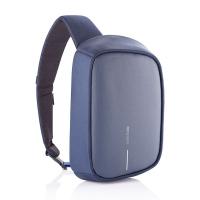 Синя чанта-раница с една презрамка XD Design Bobby Sling с място за таблет 9.7