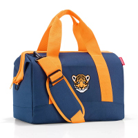 Синя детска пътна чанта за момче 18л Reisenthel Allrounder M kids, Tiger Navy
