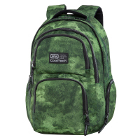 Зелена голяма раница за училище или за път CoolPack Aero - Foggy Green